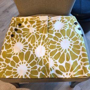 JCrew Print Skirt